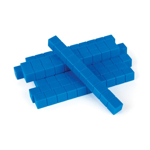 Base Ten Rods -Blue Set of 10