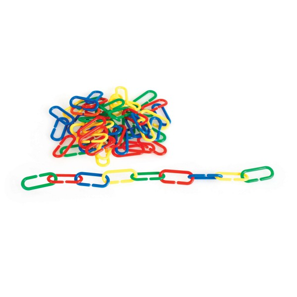 Chain Links -Set of 100 in 4 Colors