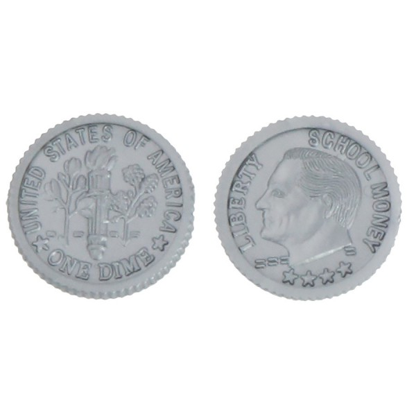 U.S. School Money Dimes Pkg. 100
