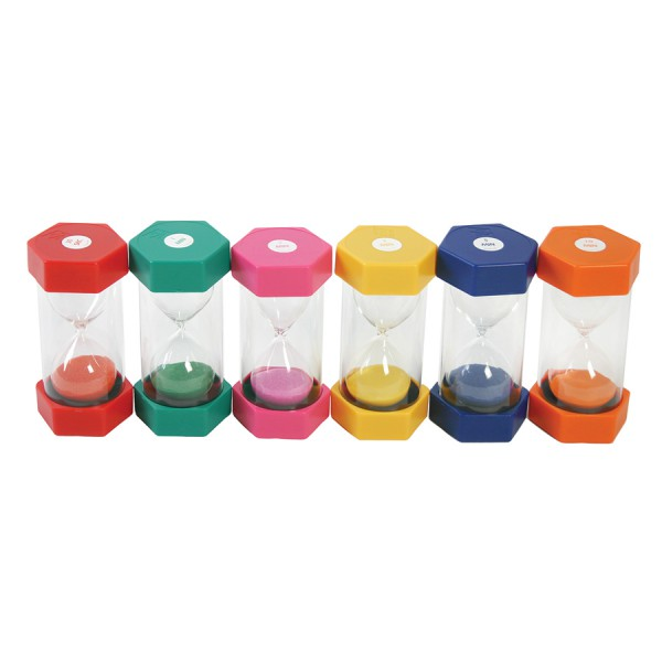 Sand Timers -Set of 6