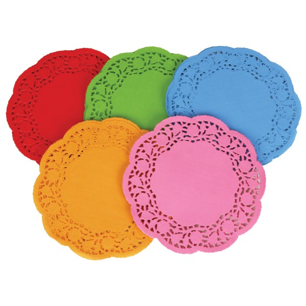 Doilies -Colored