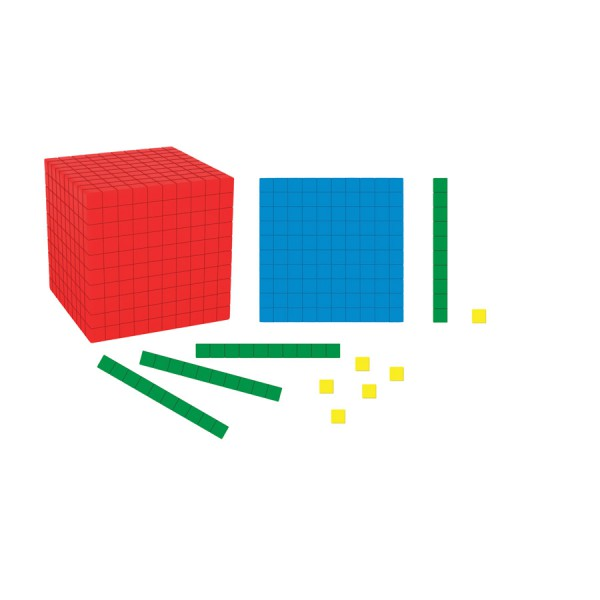 Giant Magnetic Differentiated Base Ten Set