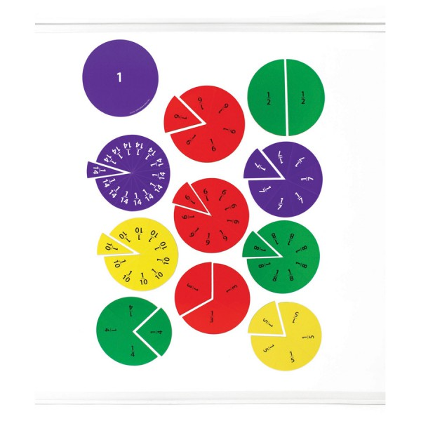 Magnetic Fraction Circles -Set of 69