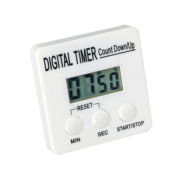 Digital Countdown Timers -Set of 6 in Container
