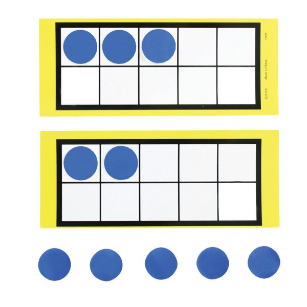 Paper Collection - Ten Frame with Counters