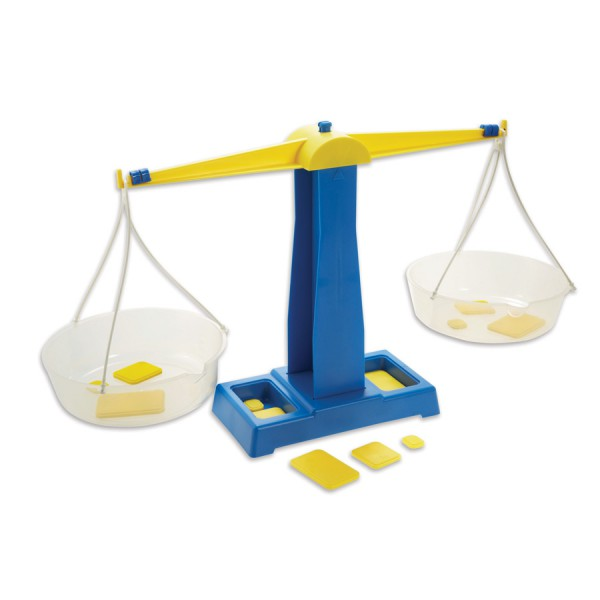 Primary Pan Balance with Weight Set