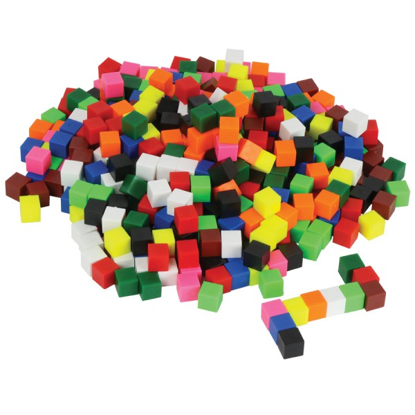 Non-Linking Centimeter Cubes -Set of 1000