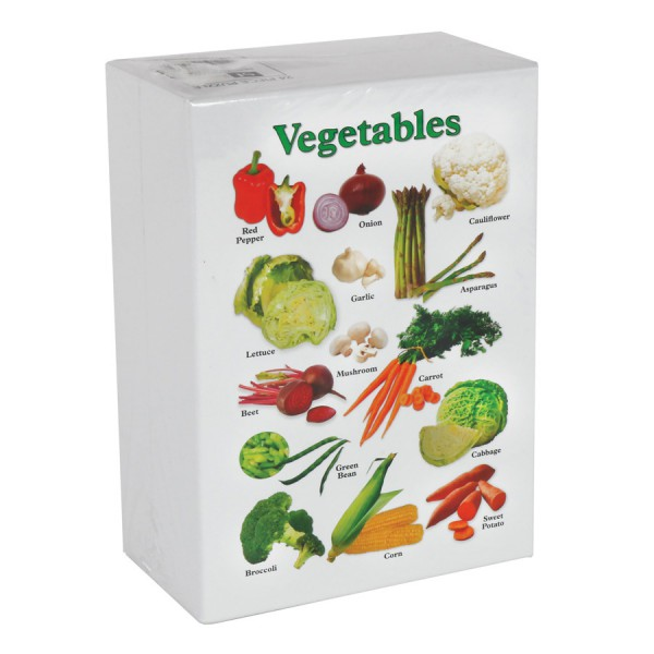 Real Vegetable Floor Puzzle