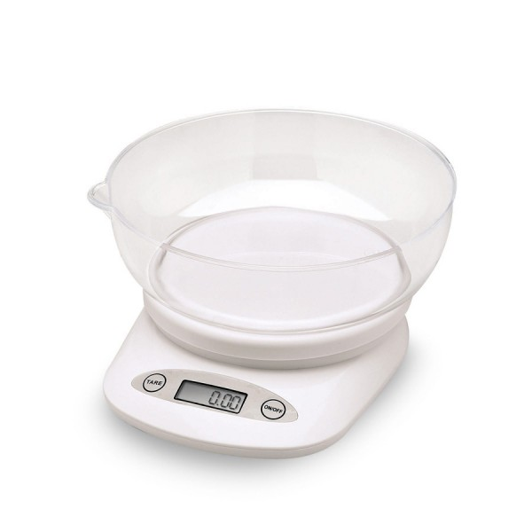 Compact Digital Scale with Bowl -2kg