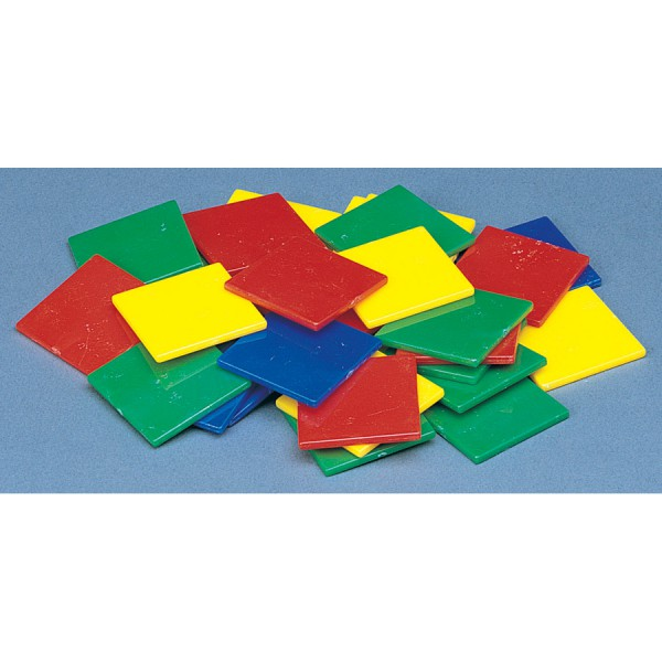 """1"""" Thin Color Tiles -Set of 400"""