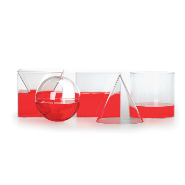 Geometric Volume Relationship Set -6 Piece