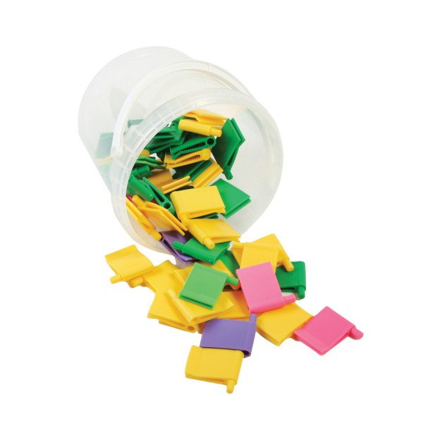 Octa-Clip™ -Bucket of 50 with Booklet