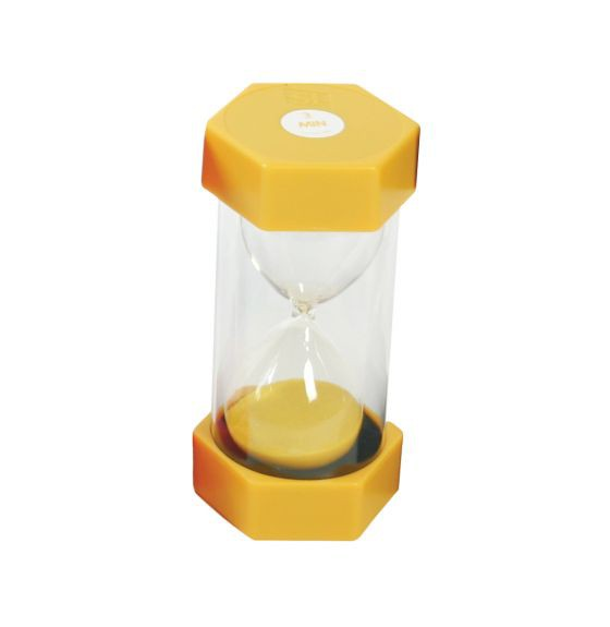 Sand Timer 3 Minute - Yellow