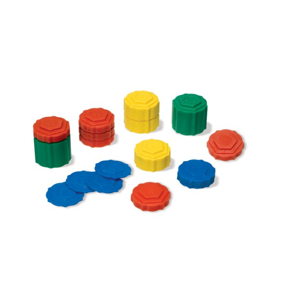 DiscoveryKits® Stacking Weights -Set of 54