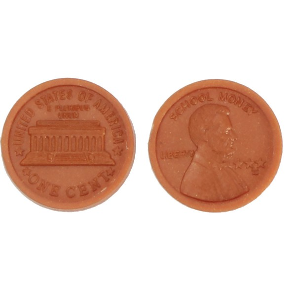 U.S. School Money Pennies Pkg. 100