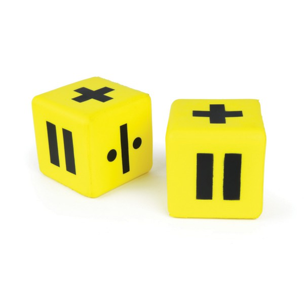 "3"" Molded Foam Dice - Operation Set of 2"