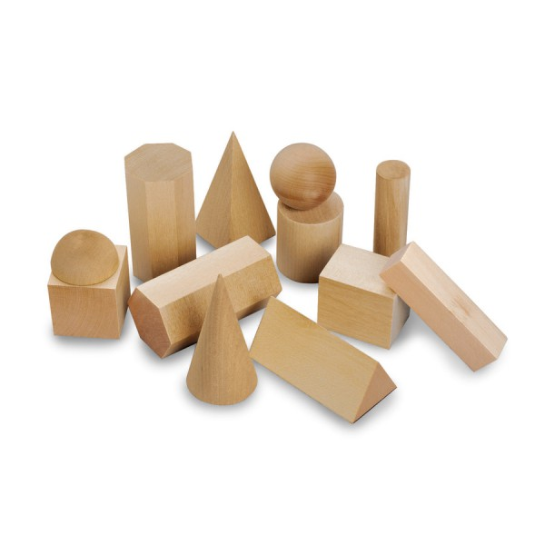 Mini Geometric Solids - Set of 12