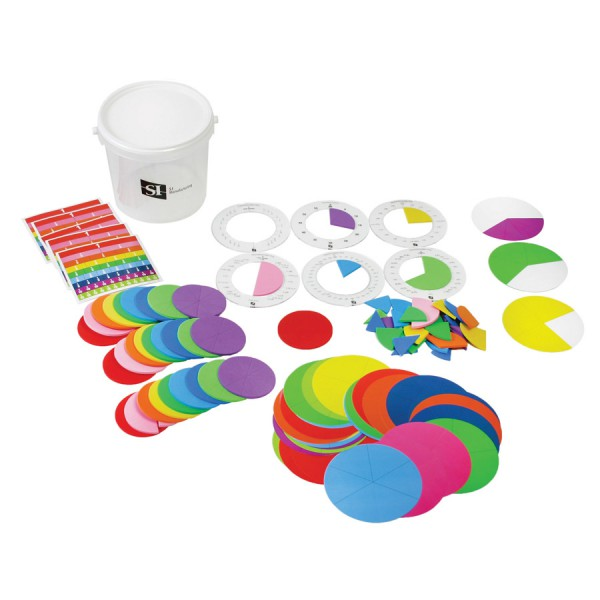 Explore with Fractions Group Bucket