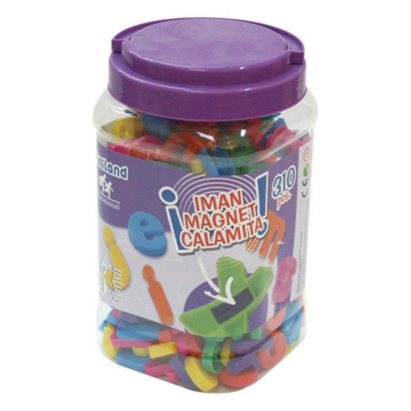 Magnetic Lowercase Letters -Set of 155 in Container