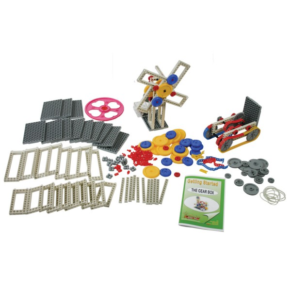 Deluxe Gear Box -Set of 744 in Polybag