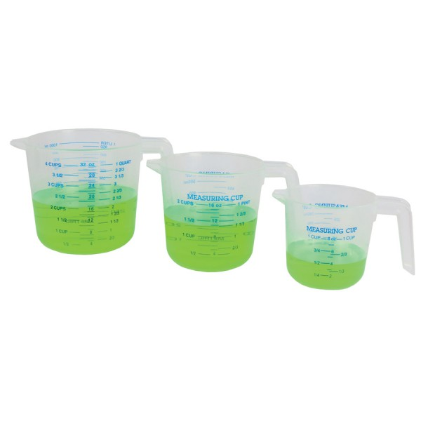 Liquid Measure Cups -Set of 3