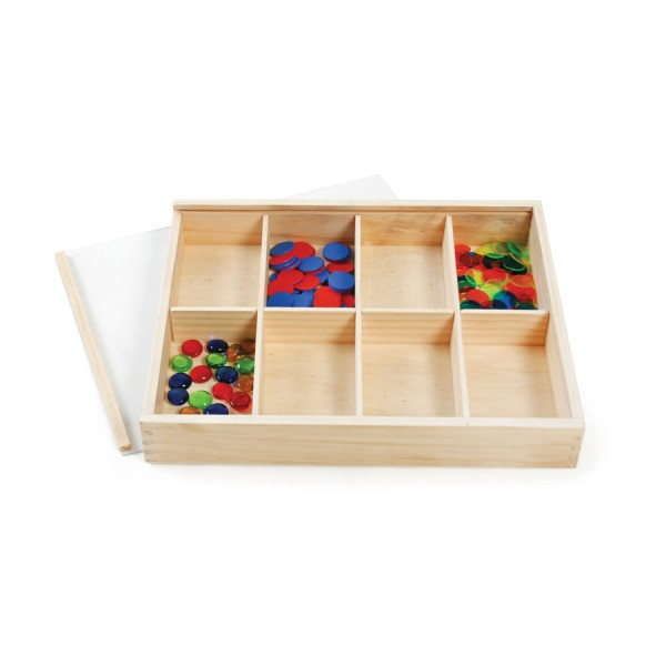 Wooden Tray with Transparent Lid