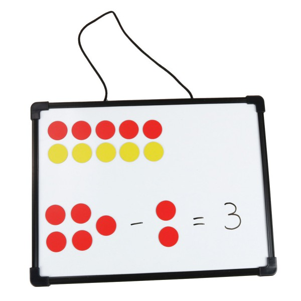 Magnetic Two Color Counters -Set of 200