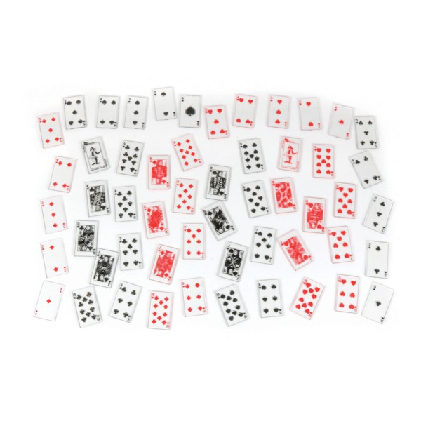 Overhead Playing Cards, Set of 52