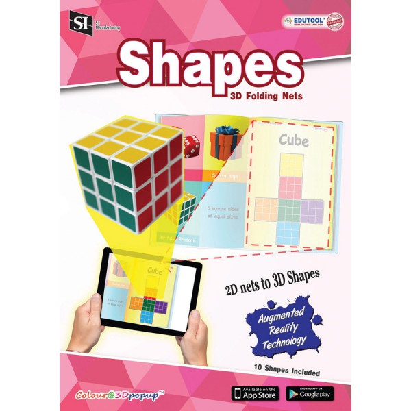 Color 3D Popup SHAPES