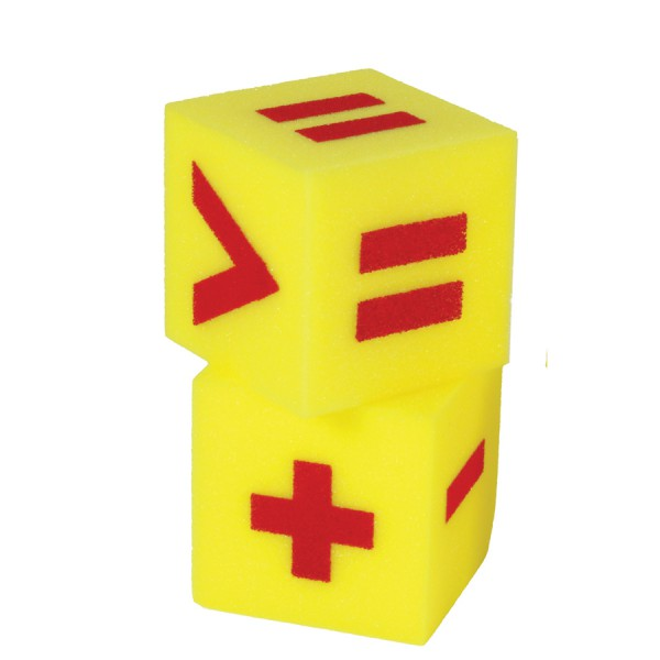 "5"" Giant Soft Foam Dice - Operation Set of 2"