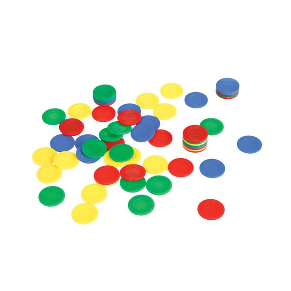 Stackable Counting Chips -Set of 500