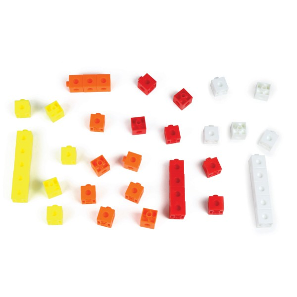 Place Value Hex-a-link™ Cubes -Set of 40