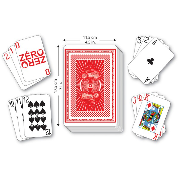 2 in 1 Large Playing Cards