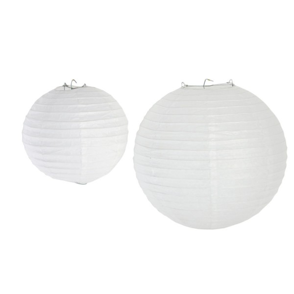 "8"" Paper Lanterns -Set of 24"