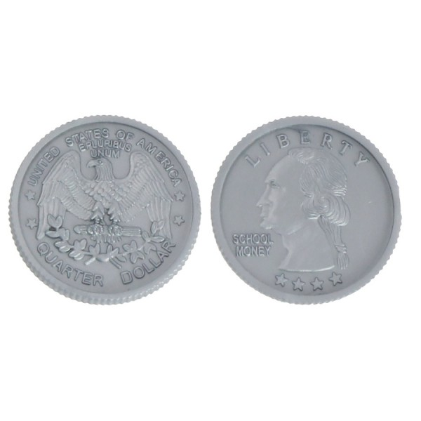 U.S. School Money Quarters -Set of 100