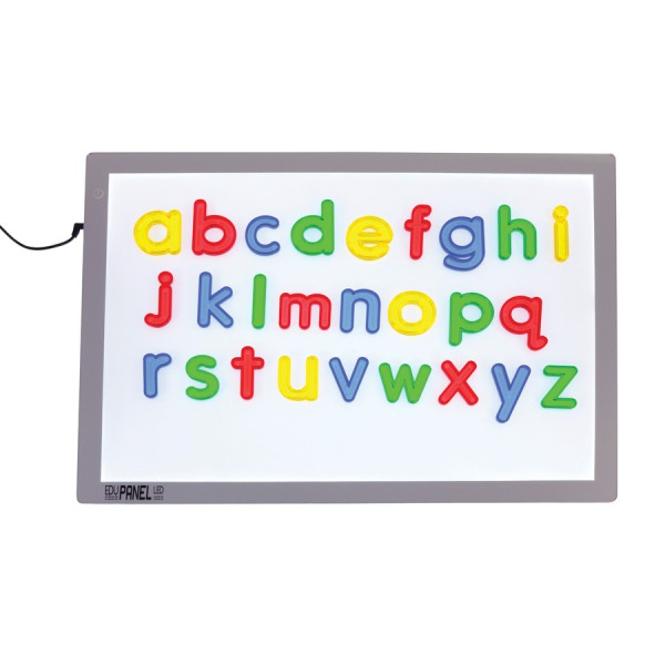 Jumbo See Thru Lowercase Alphabet