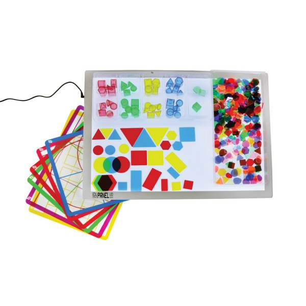 Light Panel Fun with Shapes Kit