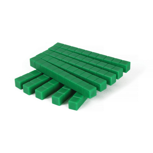 Base Ten Rods -Green Set of 10