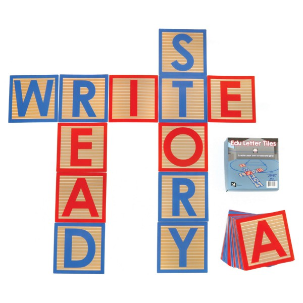EDU Letter Tiles -Set of 144