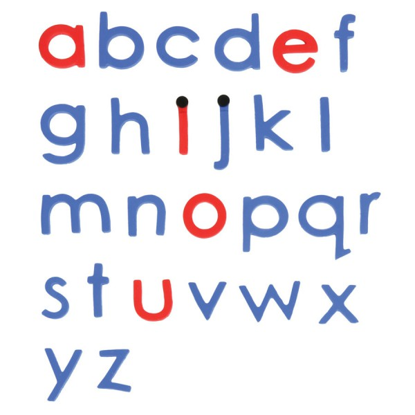 Stick EZY Letters - Lower Case Blue/Red