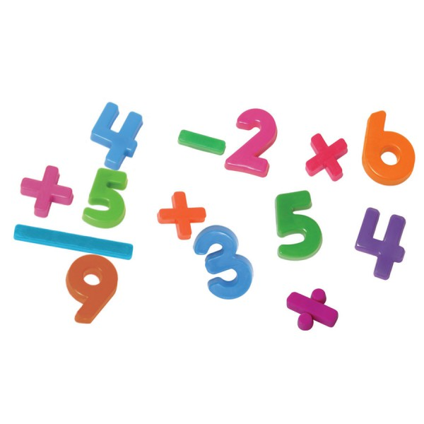 Magnetic Numbers -Set of 162 in Container