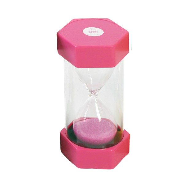 Sand Timer 2 Minute - Pink