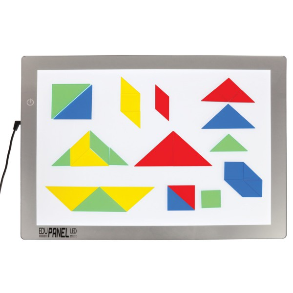 Transparent Tangrams -Set of 28
