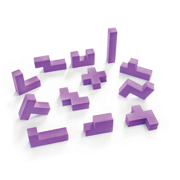 3D Pentominoes -Set of 12