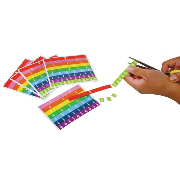 Magnetic Fraction Tile Classroom Set