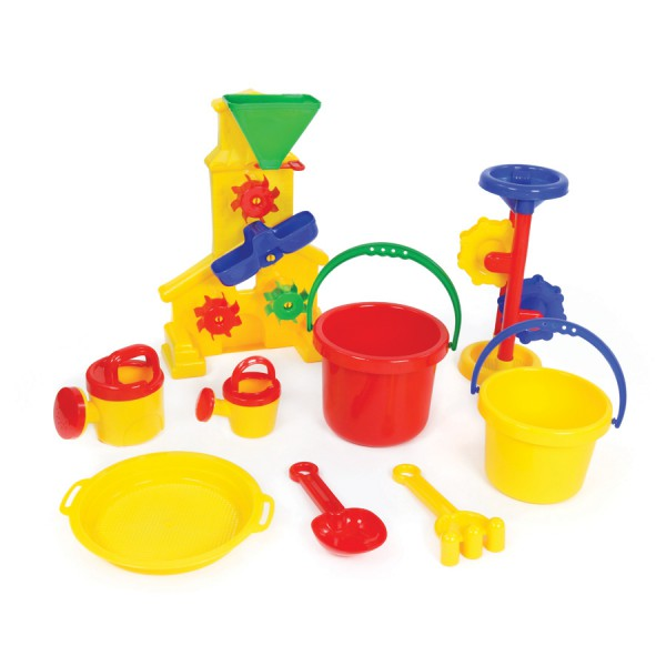 Sand and Water Toys -Set of 9