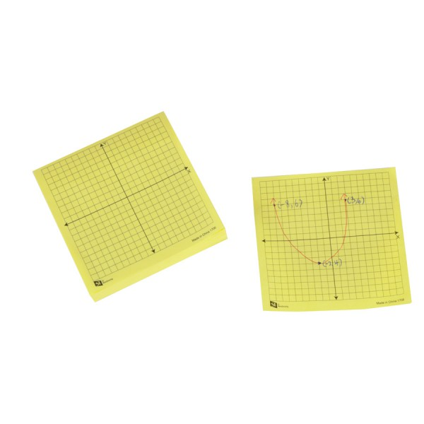 Sticky XY Coordinate Pads -Set of 4